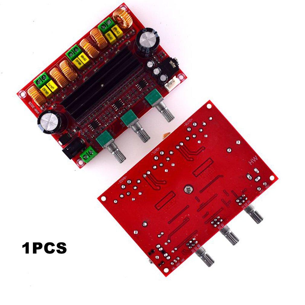 302B 2.1 Channel High Power Digital Power Amplifier Board Tpa3116D2 Power 2*80W+100W Digital Power Amplifier Board