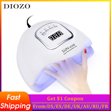 Nail-Lamp Lcd-Display Professional UV Timer DIOZO with Automatic Nails-Drying-Tool 150W/48W