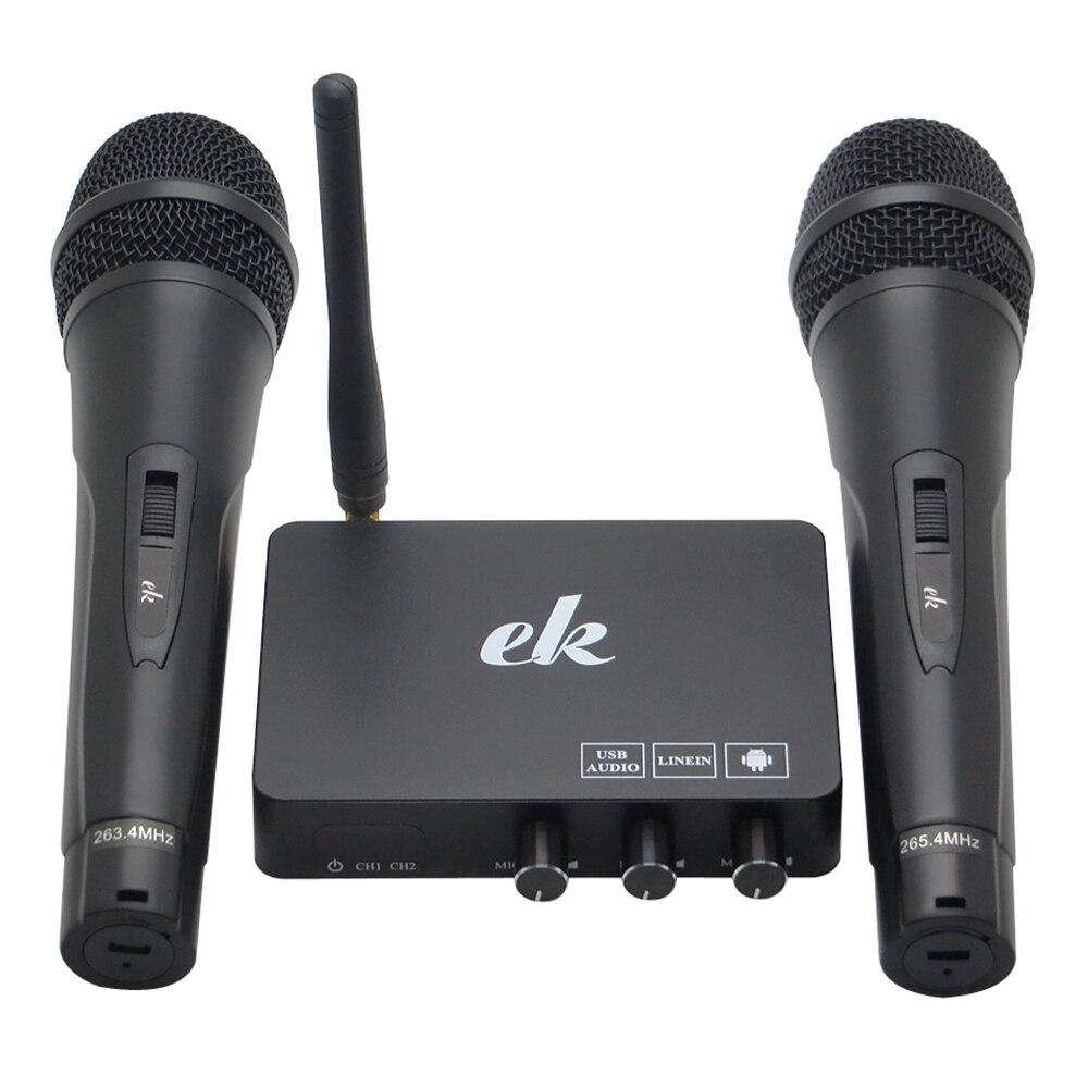 Portable K2 sans fil Mini famille système d'écho maison chantant Machine USB karaoké lecteur