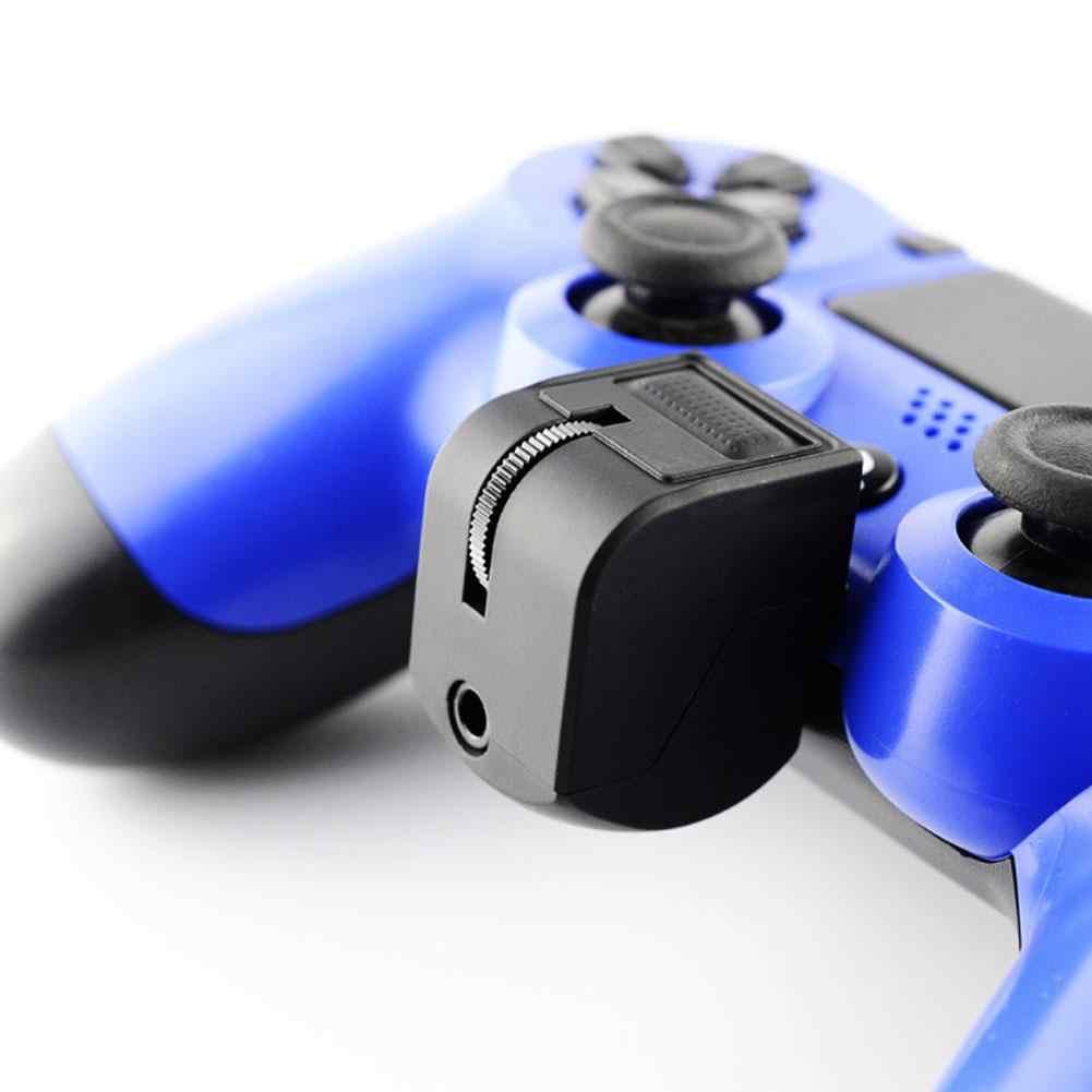 GloryStar ゲームアダプタ VR ハンドルヘッドセットアダプタボリュームコントロールゲームアクセサリーのための PS4 ソニービデオゲーム