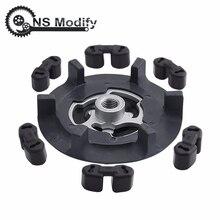 NS изменить воздуха Ac ступица муфты компрессора Авто ступица муфты компрессора+ резина для 5SE09C 5SL12C 5SEU12C 6SEU14C 6SEU17C 7SEU17C