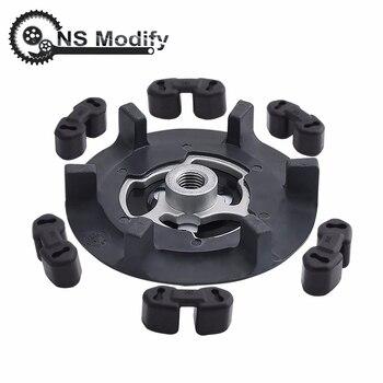 NS Modify Air Ac Compressor Clutch Hub Auto Compressor Clutch Hub+Rubber For 5SE09C 5SL12C 5SEU12C 6SEU14C 6SEU17C 7SEU17C csp15 auto ac compressor pump with clutch for chevrolet cruze 2007 2008 2009 68799768 13250596 135310475