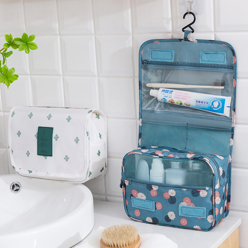 Hanging Cosmetic Bags Women's Men's Travel Toiletry Makeup Case Wash Storage Pouch Beautician Organizer Supply Gear Items Stuff
