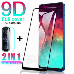 На Алиэкспресс купить стекло для смартфона 2in1 9d full cover tempered glass on the for samsung galaxy a10 a20 a30 a40 a50 a70 m10 m20 m30 a71 a51 a41 a31 protective film