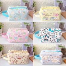 21cm Big Ear Dog Melodyings Pudding Storage Case Cute Handbag Little Devil Bag Kawaii Cartoon Cosmetic Bag Toys Gift For Girls