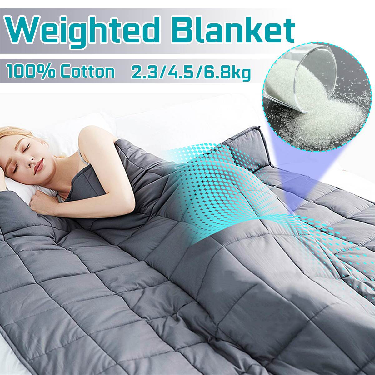 Weighted Blanket for Adult…