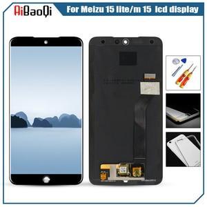Image 2 - Für Original MEIZU M15 LCD screen display + Touch screen digitizer für Für Meizu 15 lite M871H lcd display bildschirm
