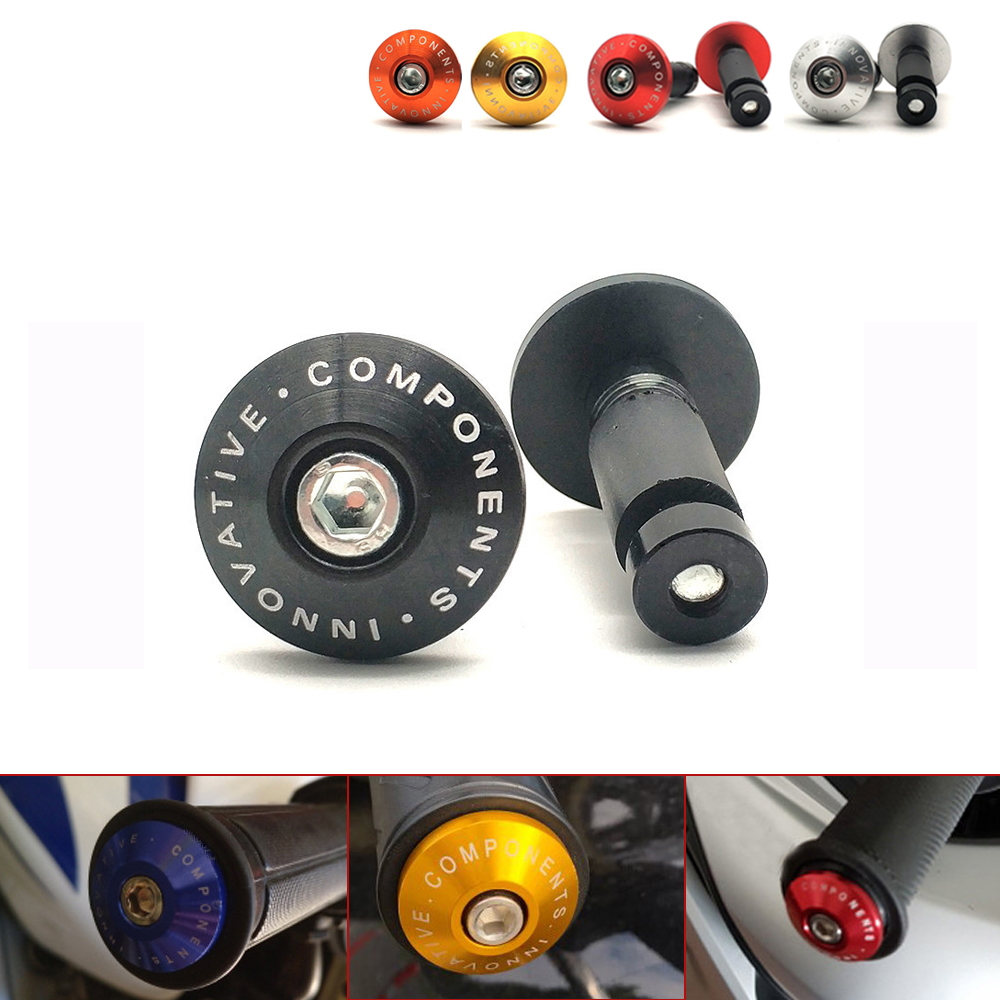 Universal Motorcycle Handlebar Grips Bar Ends Slider For Gas Gas EC 250 300 TC TE 125 Yamaha XMAX 125 250 400 300 VMAX 1700 125