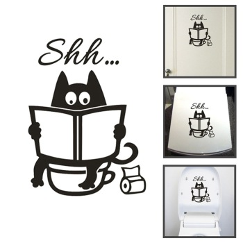 Creative Toilet Wall Sticker