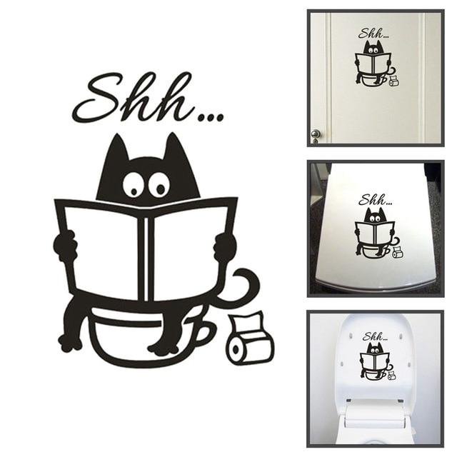 Creative Toilet Wall Sticker