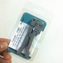 Ideale 45 162 spelafili coassiali ideale 45 162 spellafili a fibra ottica tubo a fascio trasversale coltello aperto e spelafili involucro sciolto