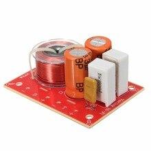 LEORY 80 Вт 2 Way Hi-Fi аудио Динамик частоты динамик с делителем частоты аудио кроссовер фильтры размером 4-6 дюймов 4-8 Ом 48 Гц-20 кГц