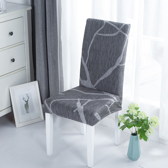 Elastic Fabric Printed Chair Cover 5