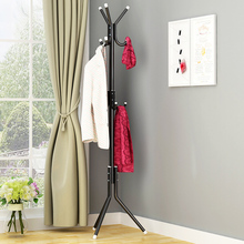 Hat Coat Rack 9/12 Hook Clothes Hanger Tree Shaped Metal Steel Tube Coat Hanger Saving Space Handbag Scarf Storage Clothes Stand