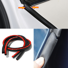 Sticker Rubber-Seal-Strip Weatherstrip External-Accessory Auto-Protector Car-Door Noise-Insulation