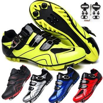 Mtb sapatos de ciclismo homem esporte ao ar livre sapatos de bicicleta auto-bloqueio profissional de corrida de estrada sapatos zapatillas 1