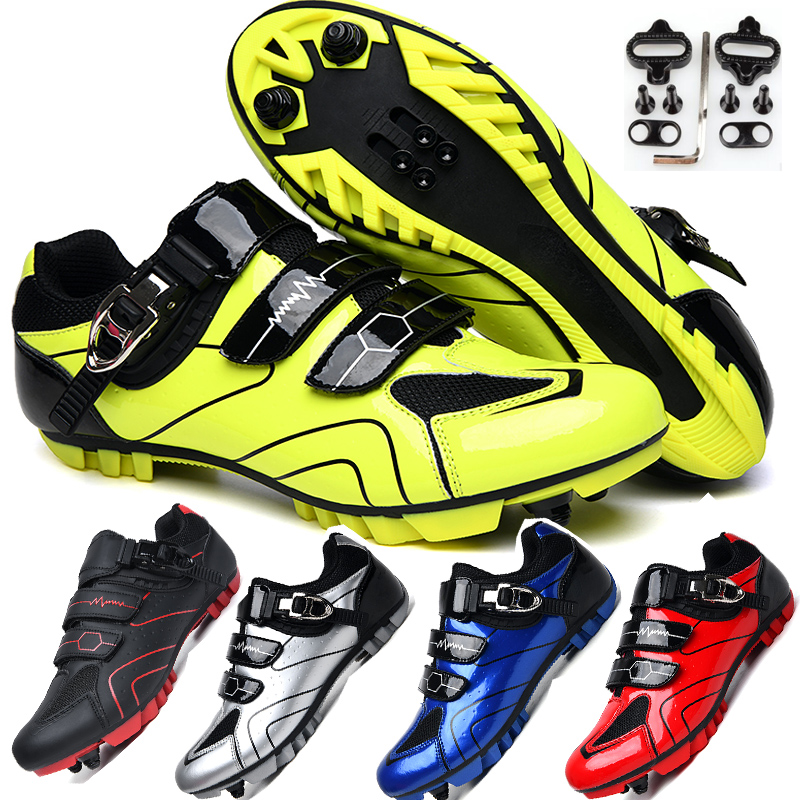 MTB Đi Xe Đạp Giày Nam Thể Thao Ngoài Trời Giày Xe Đạp Tự Khóa Chuyên Nghiệp Đua Xe Đạp Đường Bộ Giày Zapatillas Ciclismo