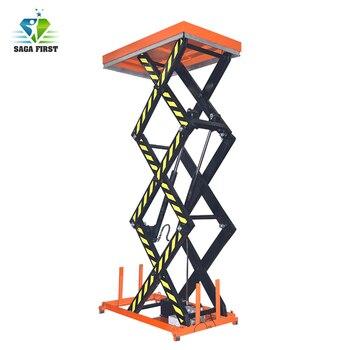 Stationary Multiple Scissor Lift Table