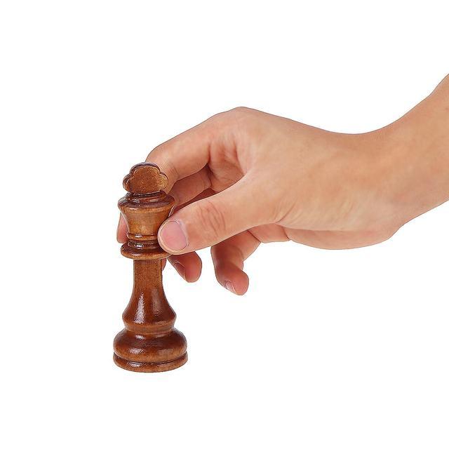 32 pièces, en bois, hauteur roi 105mm, jeu d'échecs de haute qualité 4