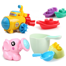 Cute Baby Bath Toys Kids Funny Soft Rubber Float Spray Water Squeeze Toys Animals for Children Tub Rubber Bathroom 2019 CC50BT