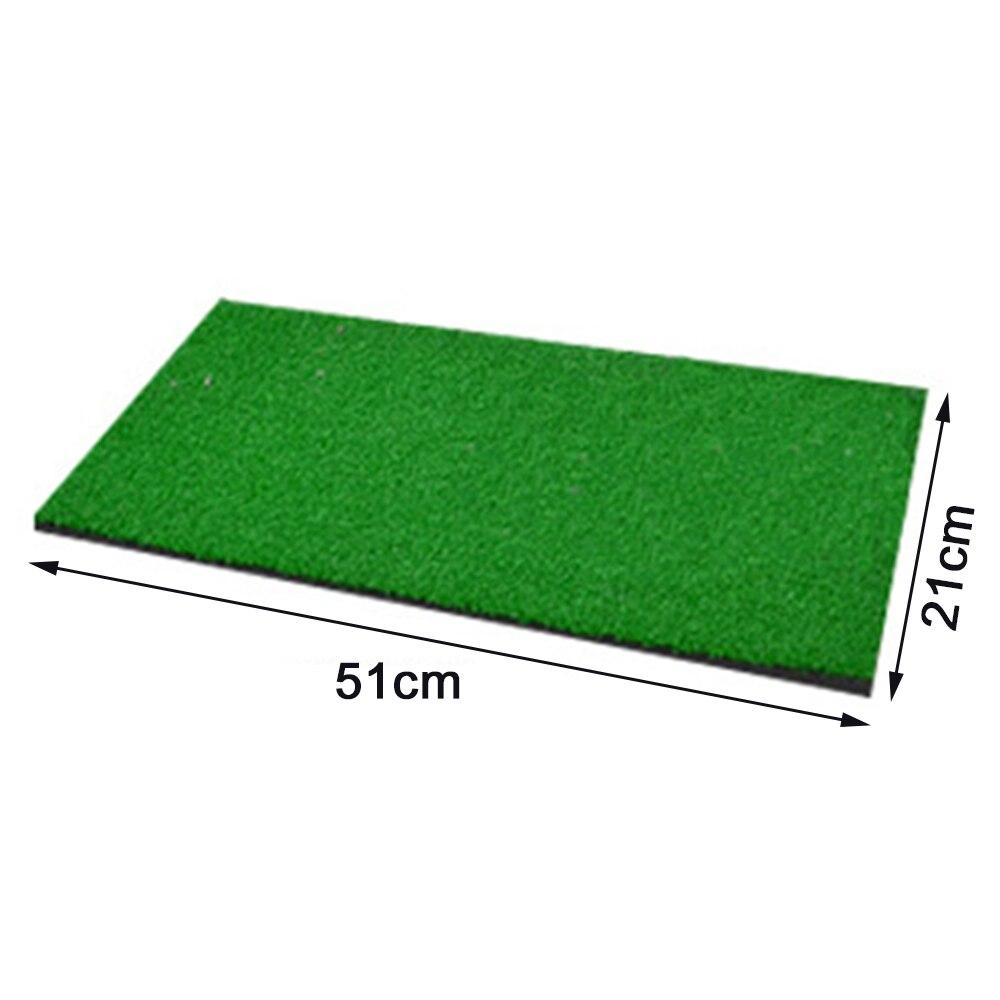 Купить с кэшбэком 21*51cm PP Golf Mini Mat Portable Outdoor Chipping Pitching Cages Mats Indoor Practice Golf Training Aid Net Set New HOt Sale