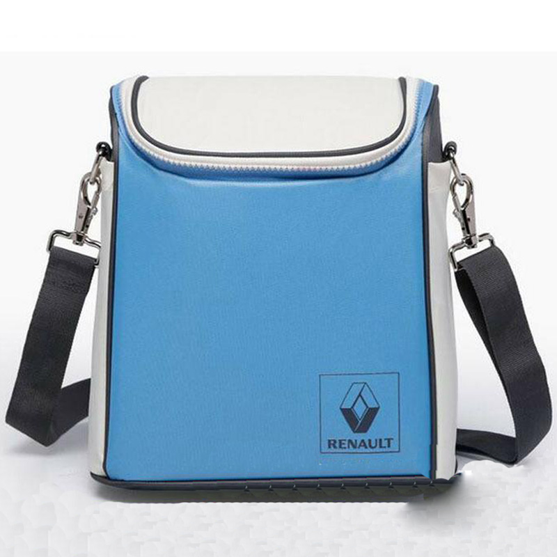Outdoor First Aid Kit Outdoor Sports Blue Nylon Reflective Waterproof Messenger Bag Family Travel Insulation Package