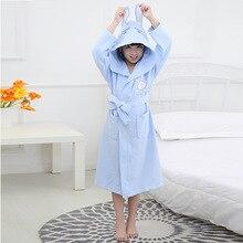 Детские халаты из чистого хлопка, тонкий вафельный водопоглощающий купальный костюм, летние пижамы с капюшоном для мужчин и женщин