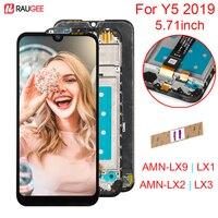Tela para huawei y5 2019 display lcd tela de toque digiziter painel substituição para huawei y5 2019 AMN LX9 lx1 lx2 lx3|LCDs de celular| |  -