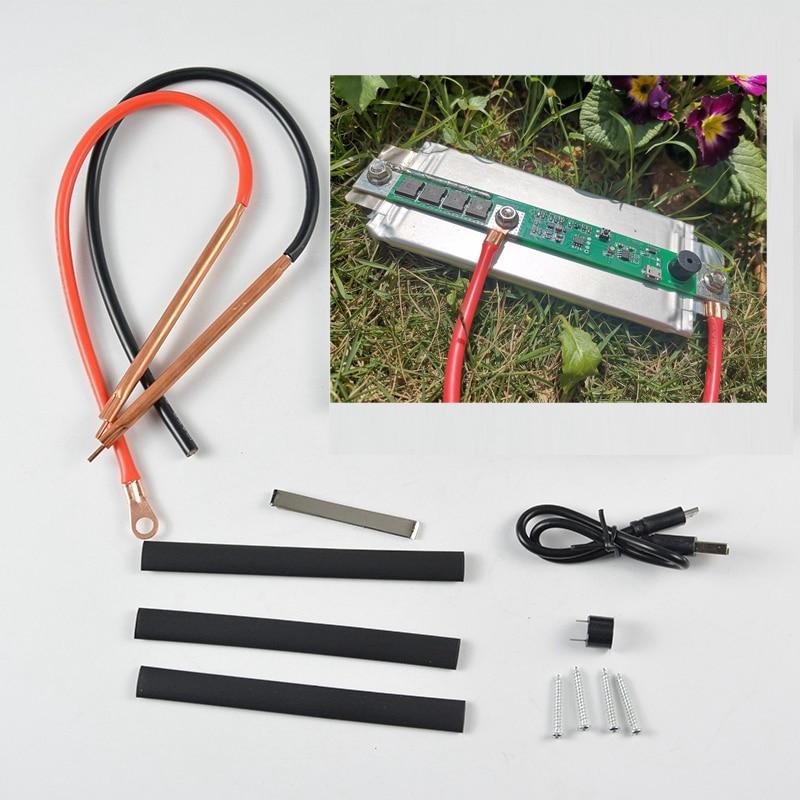 Free Shipping 3.7-4.2V Battery Storag Portable Mini Spot Welding Machine DIY Nickel Strip Spot Welders Pen For 18650/26650/Lipo