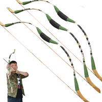toparchery New Children Archery Game Bow Recurve Bow Traditional Bow for Kids Women Sports Shooting Archery Target Outdoor