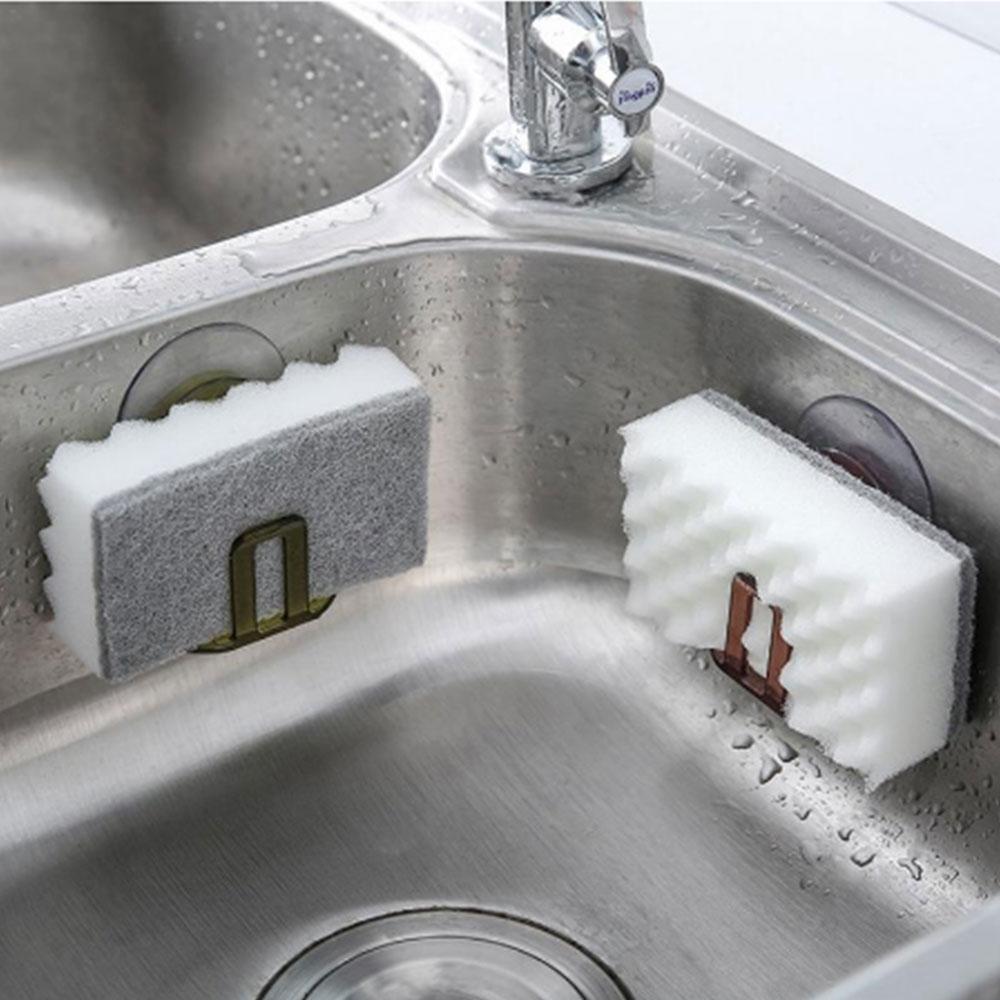 Suction Cup Gutters Asphalt Sponge Storage Rack Kitchen Sink Soap Rack Asphalt Shelf Shelf