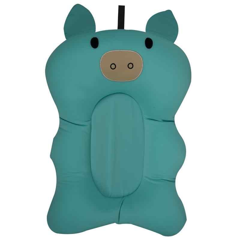 Floating Soft Baby Bath Pillow and Lounger Newborn Baby Pad Tub Bath Cushion (Green)