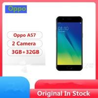 "Original Oppo A57 4G LTE Mobile Phone Snapdragon 435 Android 6.0 5.2"" IPS 1280x720 3GB RAM 32GB ROM 16.0MP Fingerprint 1"
