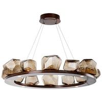 g4 LED Postmodern Art Stone Designer Round LED Chandelier Lighting Lustre Suspension Luminaire Lampen For Foyer