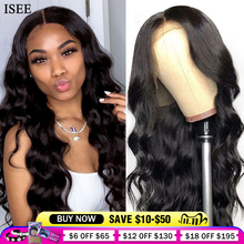 Perruque Lace Frontal wig péruvienne naturelle ISEE Hair