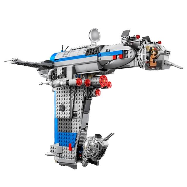 Nouveau Star Wars série jouets résistance bombardier Compatible Lepinin Star Wars 75188 blocs de construction briques pour enfants cadeau danniversaire