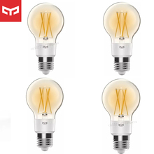 Yeelight Smart Led lampe Seide Lampe E27 Helligkeit Einstellbar Smart Lampe Für Wifi Mihome APP Apple Homekit Control