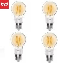 Yeelight ampoule LED intelligente lampe en soie E27 luminosité réglable lampe intelligente pour Wifi Mihome APP Apple Homekit contrôle