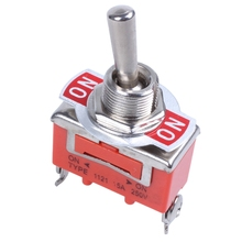 цена на AC 250V 15A ON / ON 2-way SPDT Screw Terminals Toggle Switch
