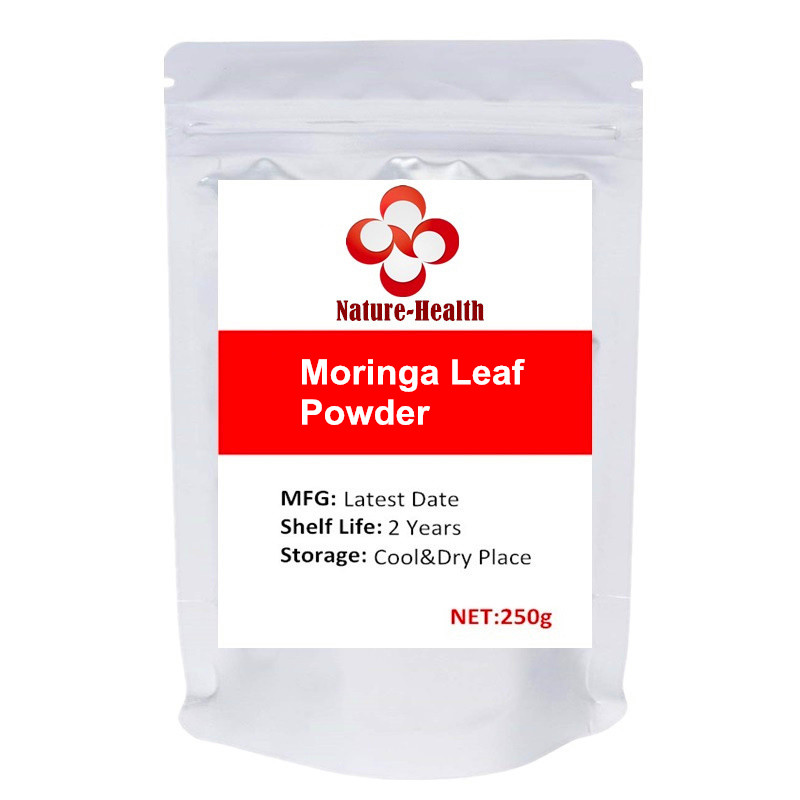 Organic Moringa Oleifera Leaf Powder All Natural Energy Boost, Raw Superfood and Multi-Vitamin image