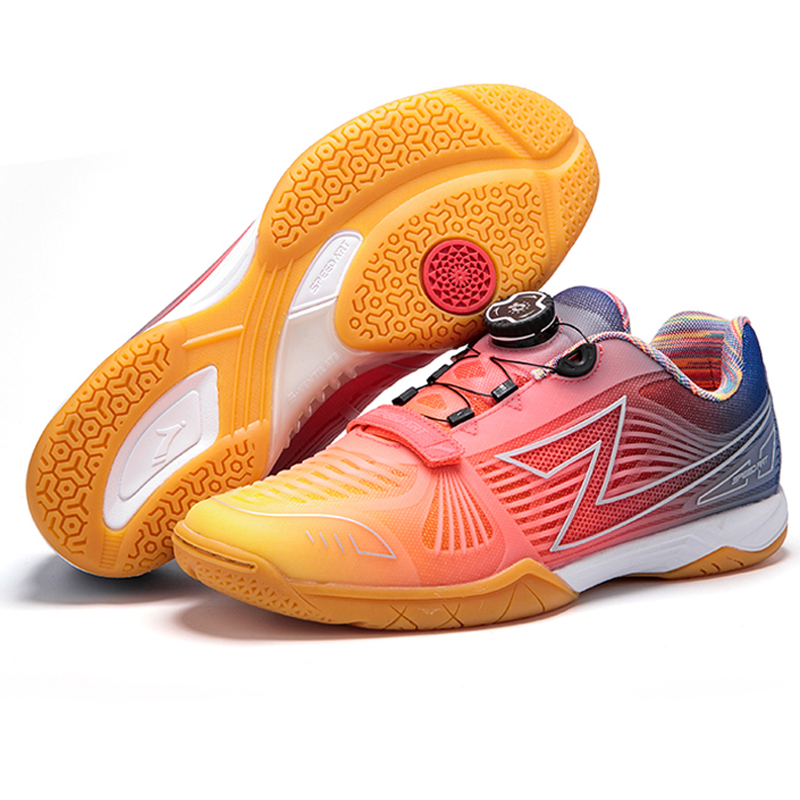 Men Professional Table Tennis Shoes Breathable Anti-Slippery Sport Sneakers Women Ping Pong Shoes Hard-Wearing Training Shoes
