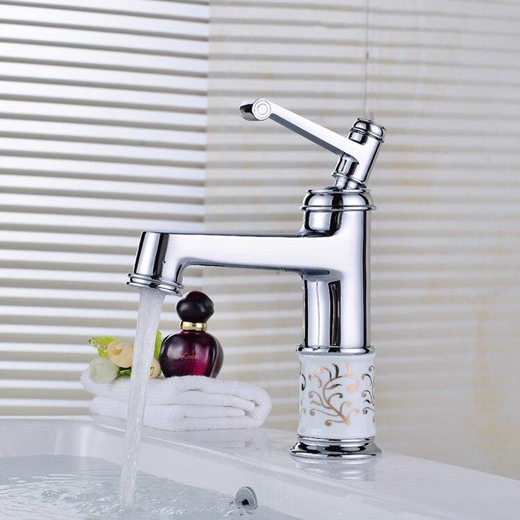 Смеситель для ванной комнаты, кран для горячей и холодной раковины, кран для раковины, кран для раковины WB1122
