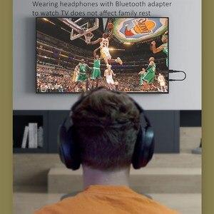 Image 5 - אלחוטי אוזניות מתקפל סטריאו בס Bluetooth אוזניות קיד ילדה קסדת מתנה, עם מיקרופון USB Bluetooth 5.0 מתאם עבור טלוויזיה משחקים