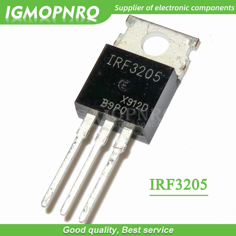 20pcs IRF3205 IRF3205PBF MOSFET MOSFT 55V 98A 97.3nC 8mOhm TO-220 New Original