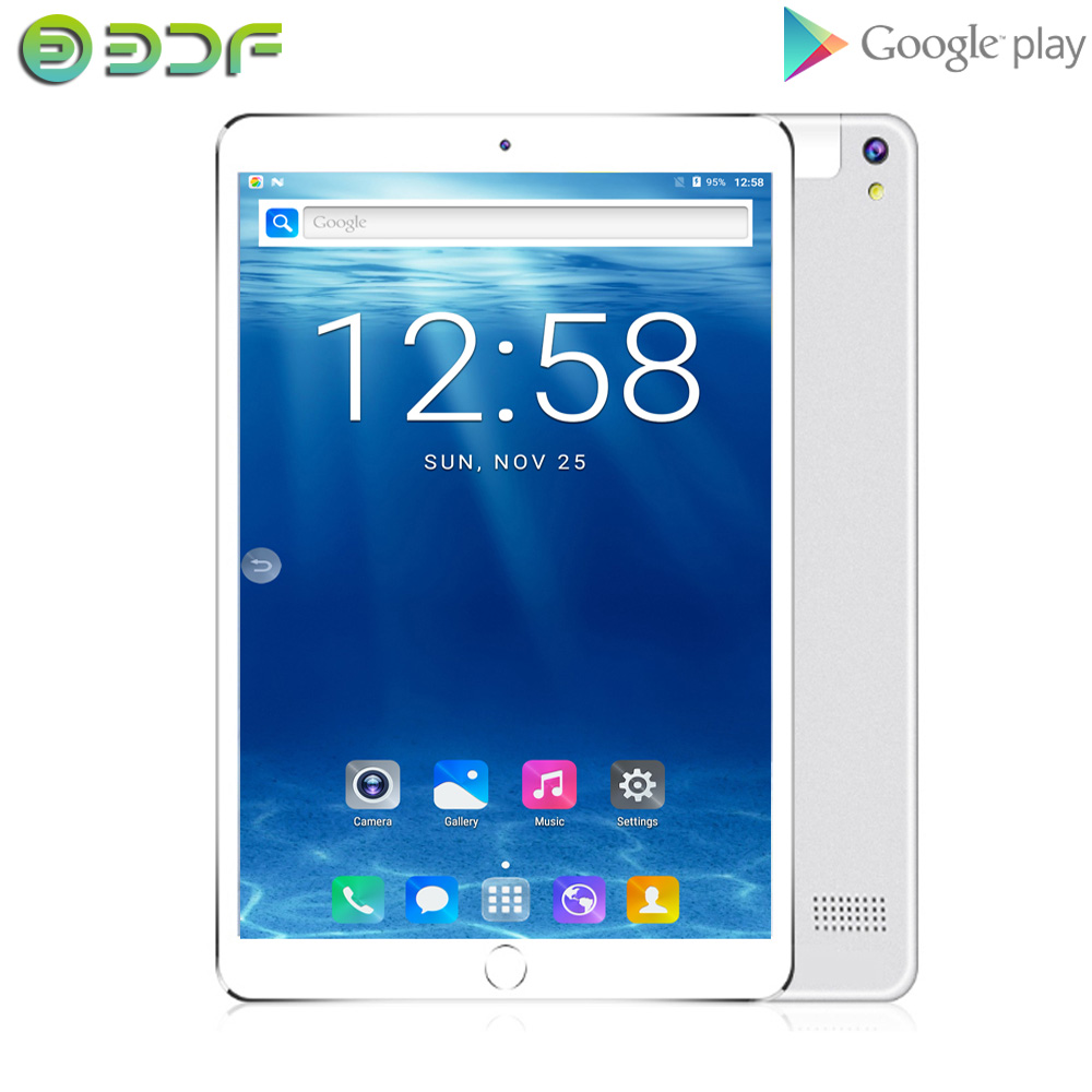 New 10 Inch Android 7.0 Quad Core 32GB ROM Tablet Dual SIM Card Phablet 1280*800 IPS LCD Bluetooth WIFI Tablets Google Play GPS