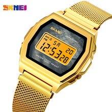 SKMEI LED Light Digital Men Sports Watches Stopwatch Calendar Waterproof Wristwatch Electronic Clock Relojes Para hombre 1806