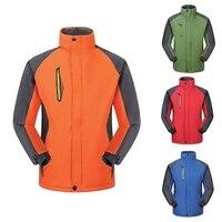 Homem inverno blusão grosso quente jaqueta impermeável à prova de vento caminhadas equitação jaqueta esportes ao ar livre jaqueta feminina