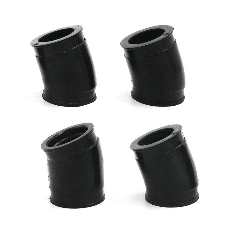 Set of 4 Carburetor Intake Flange Boot for CB750C CB750F CB750K 11-4654 Carb Holder
