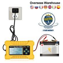 AUTOOL – testeur de batterie de voiture, analyseur de chargeur de batterie, BT380 12V CCA2400, 220V 110V