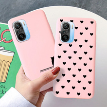 Silicone Cover Case For Poco X3 NFC M3 F2 X2 Pro F1 Candy Color Phone Cases For Xiaomi Mi Play A1 6 8 Explorer Lite 9 SE Mix 2S